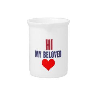 Hawaii my beloved beverage pitcher