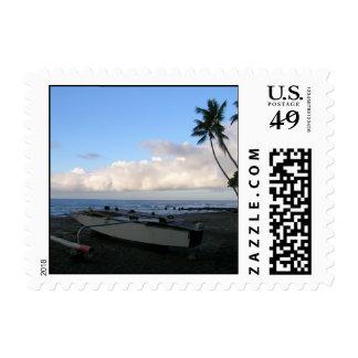 Hawaii near Kona Stamp