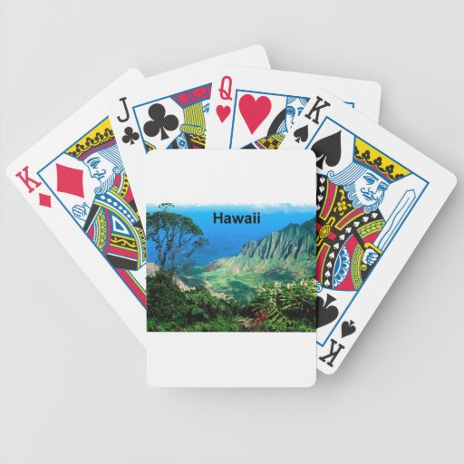 Hawaii (new) (St.K) Bicycle Playing Cards