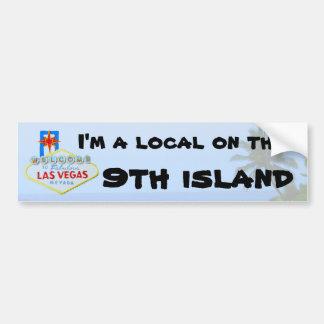 Hawaii Ninth Island Jokes Bumper Sticker