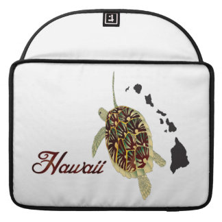 Hawaii Oahu Island Sleeves For MacBook Pro