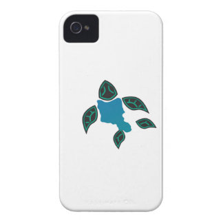 Hawaii Oahu Island Turtle Case-Mate iPhone 4 Case