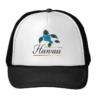 Hawaii Oahu Turtle Island Cap Trucker Hat