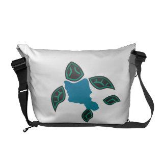 Hawaii Oahu Turtle Courier Bags