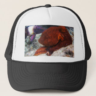 Hawaii Octopus Trucker Hat