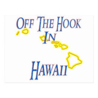 Hawaii - Off The Hook Postcard