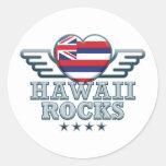 Hawaii oscila v2 etiquetas redondas