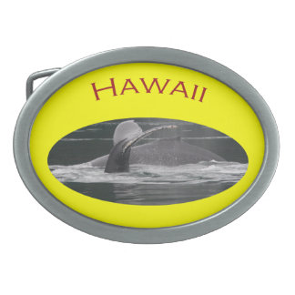 Hawaii Oval Belt Buckle
