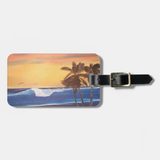 Hawaii Painting Luggage Tag