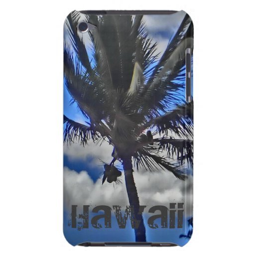 Hawaii palm ipod touch case