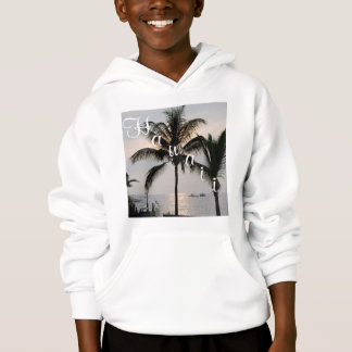 Hawaii Palm Tree & Ocean View Hoodie