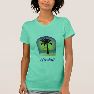 Hawaii Palm Tree T-Shirt