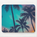 Hawaii Palm Trees At Sunset Mousepads