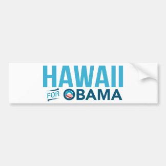 Hawaii para la pegatina para el parachoques de Bar Pegatina De Parachoque