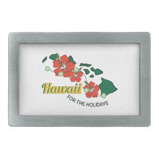 Hawaii para los días de fiesta hebilla cinturon rectangular