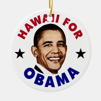 Hawaii para Obama Ornato