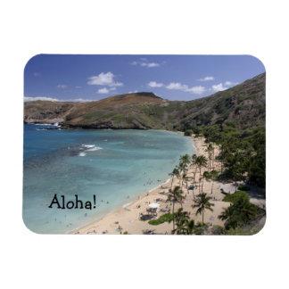Hawaii paradisiac beach Premium Magnet