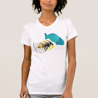 Hawaii Parrot and Trigger Fish T-Shirt