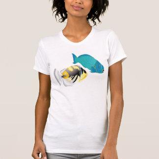 Hawaii Parrot and Trigger Fish Tshirt