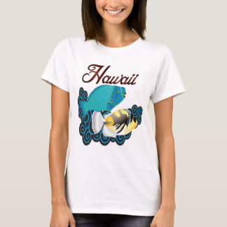 Hawaii Parrot Fish and Trigger Fish T-Shirt