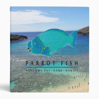 Hawaii Parrot Fish Note Binder