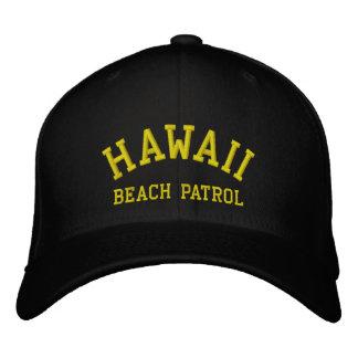 HAWAII PATRULLA DE LA PLAYA GORRA DE BEISBOL