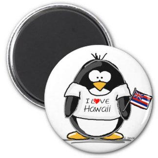 Hawaii Penguin Refrigerator Magnet