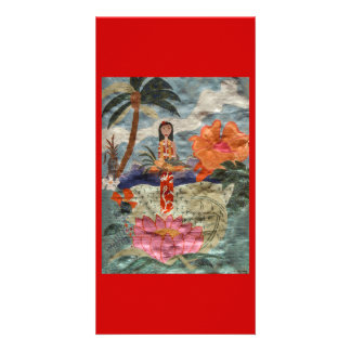 Hawaii Picture Card