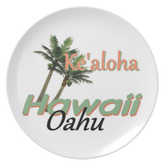 HAWAII PARTY PLATE