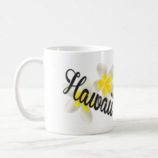 Hawaii Plumeria Flowers Coffee Mug