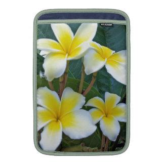 Hawaii Plumeria Flowers MacBook Air Sleeves