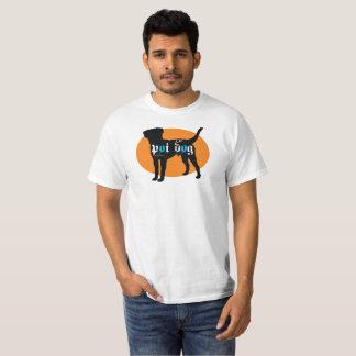 Hawaii Poi Dog Orange Oval T-Shirt