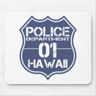 Hawaii Police Department Shield 01 Mouse Pad