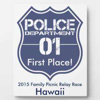 Hawaii Police Department Shield 01 Plaque