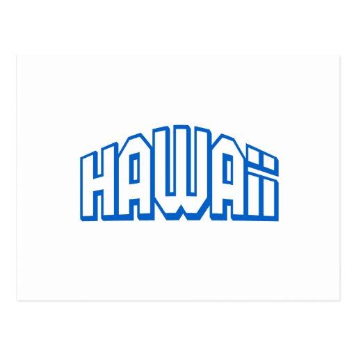 Hawaii Post Card
