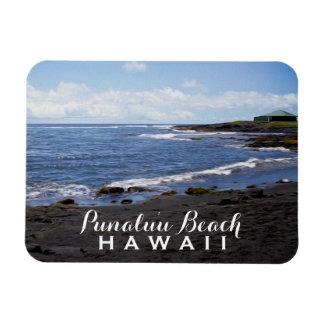 Hawaii • Punalu'u Black Sand Beaches Magnet