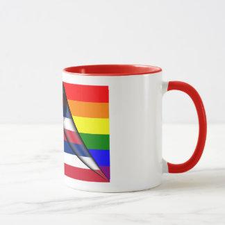 Hawaii Rainbow Flag Mug
