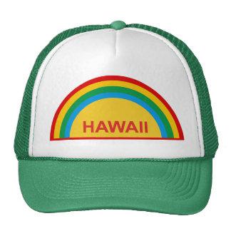 Hawaii Rainbow Trucker Hat