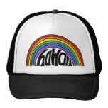 Hawaii Rainbow Trucker Hats