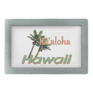 HAWAII RECTANGULAR BELT BUCKLE