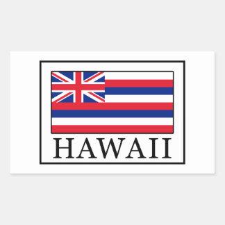 Hawaii Rectangular Sticker