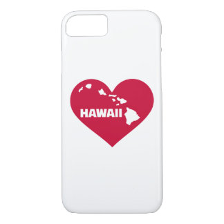 Hawaii red heart iPhone 7 case