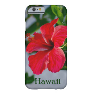 Hawaii Red Hibiscus Barely There iPhone 6 Case