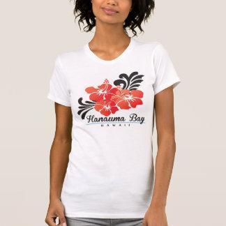 Hawaii Red Hibiscus Flower T-Shirt
