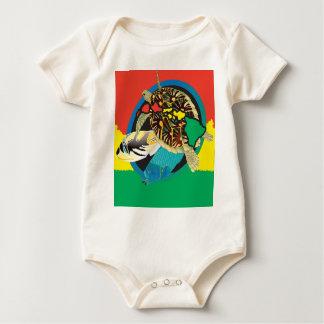 Hawaii Reggae Islands Baby Bodysuit
