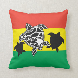 Hawaii Reggae Turtle Pillows
