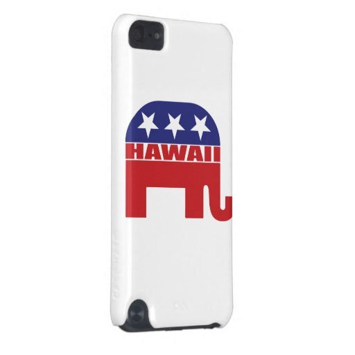 Hawaii Republican Elephant iPod Touch (5th Generation) Case