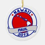 Hawaii Ron Paul Adorno De Navidad