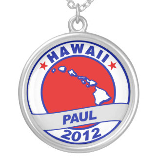 Hawaii Ron Paul Personalized Necklace