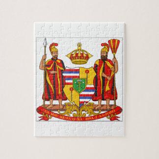 Hawaii Royal Coat of Arms Puzzles